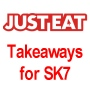 Justeat Takeaway list for SK7